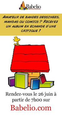 Masse Critique : recevez une BD en échange d'une critique