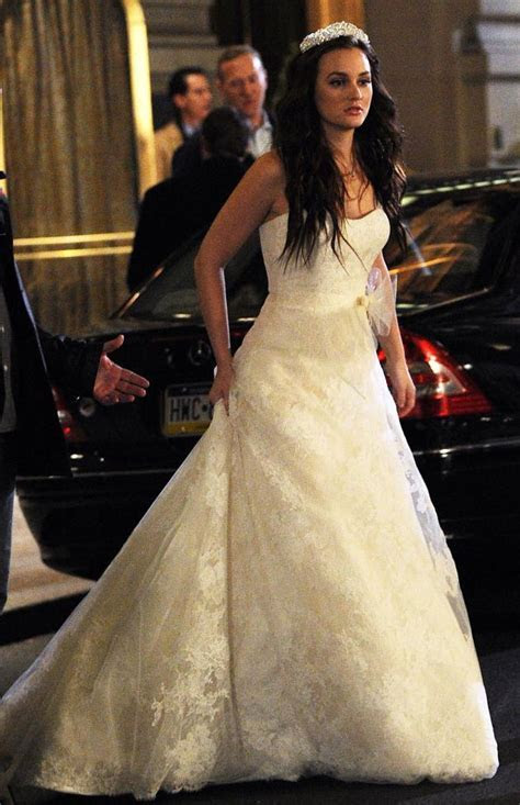 Gossip Girl Set Photos: Blair Waldorf's Wedding Dress