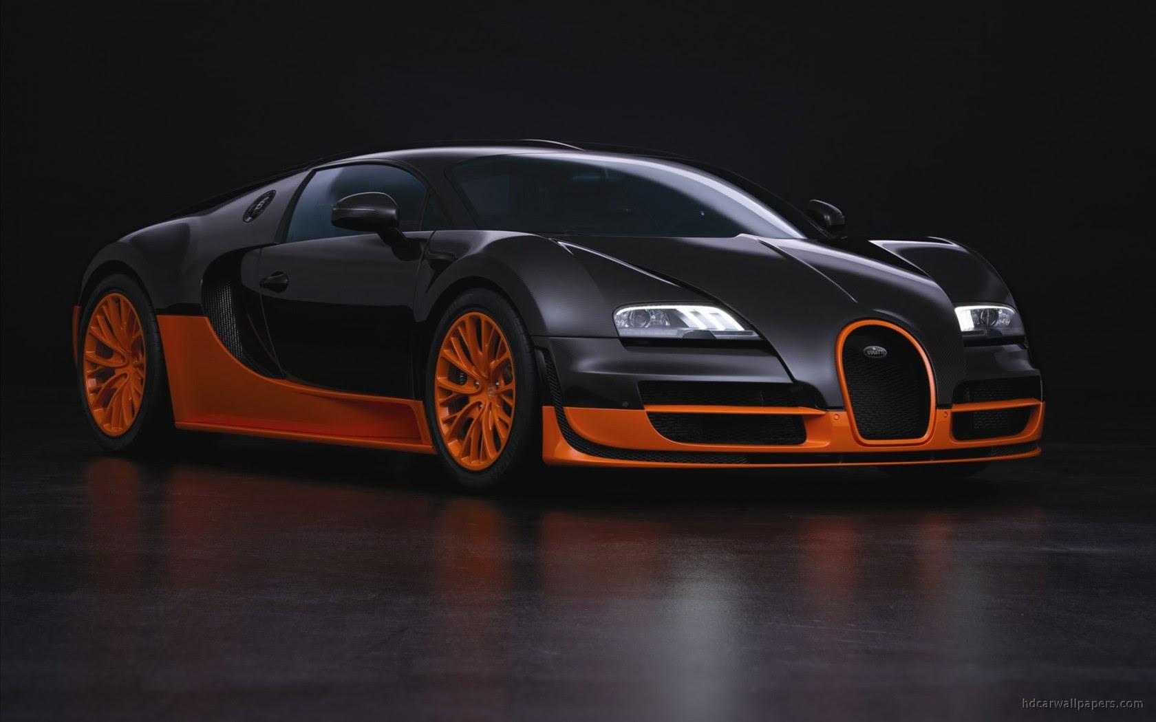 Bugatti Veyron Super Sports Car Wallpaper in 1680x1050 Resolution