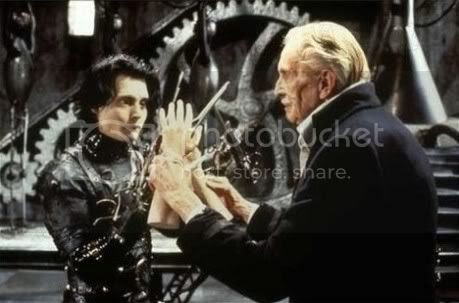 Edward Scissorhands,Johny Depp