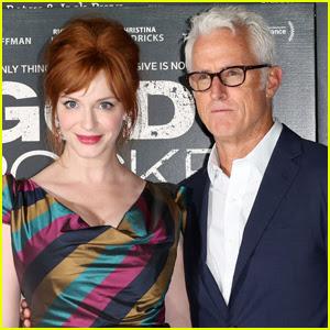'Mad Men' Stars Christina Hendricks & John Slattery Reunite For Amazon Series