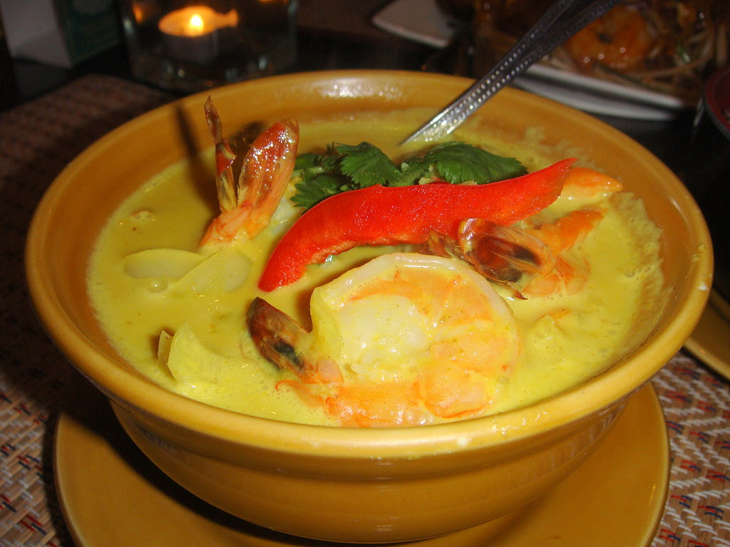 Shrimp Yellow Curry