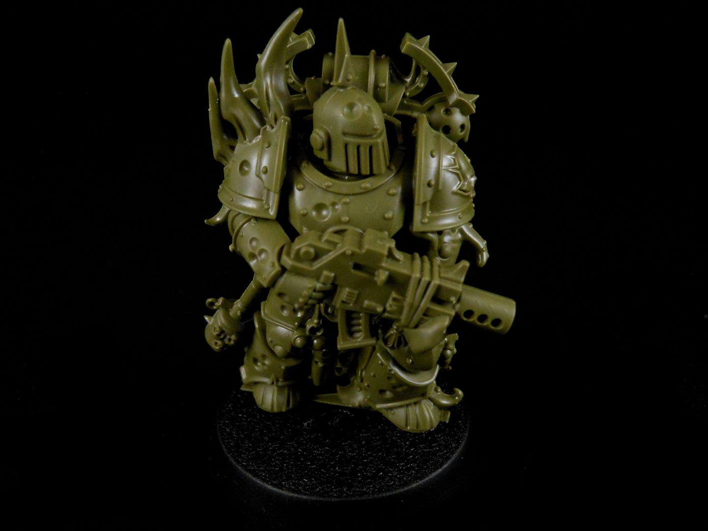 A Death Guard Plague Marine from Warhammer 40,000: First Strike.