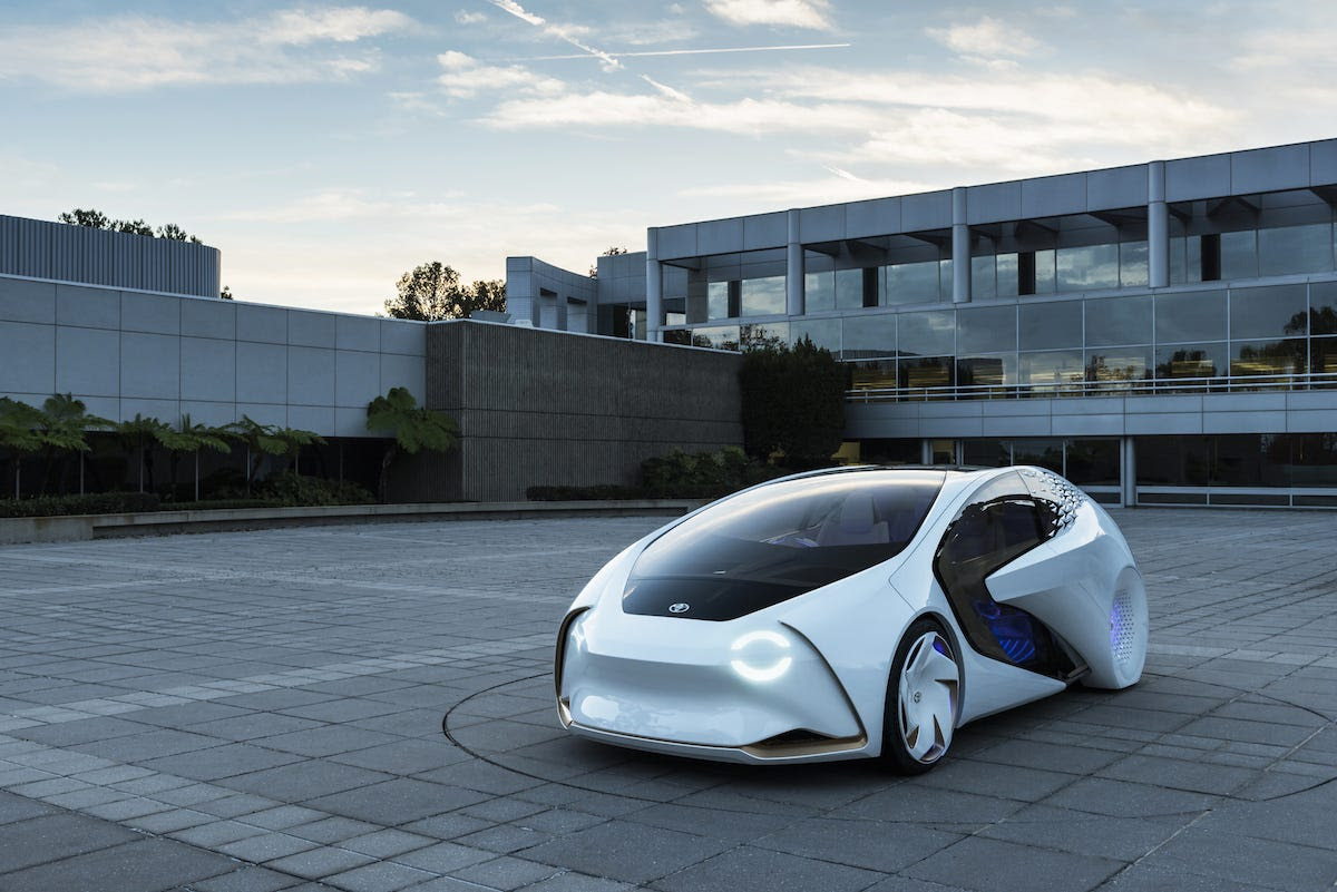 But as concept cars go, Toyota has actually presented something relatively down-to-earth.