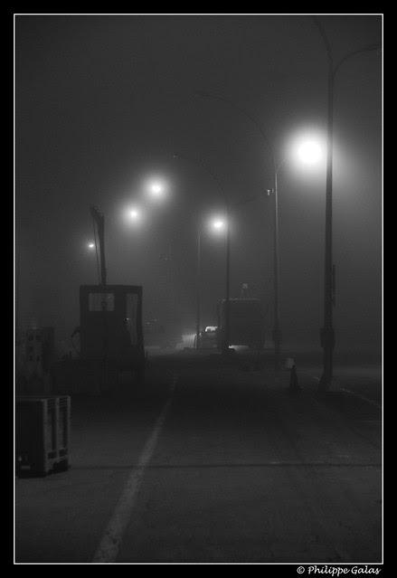 Nuit sur le port du Guilvinec