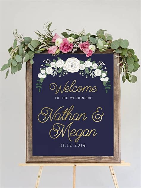 25  best ideas about Wedding Reception Signs on Pinterest