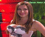 Dania Neto sensual em vários trabalhos