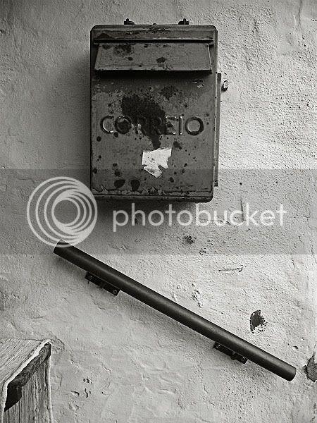 velho marco de correio