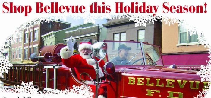 Santa comes to town!