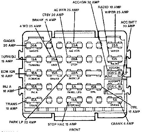 [DIAGRAM] Wiring Diagram For 88 Chevy K1500 FULL Version ...