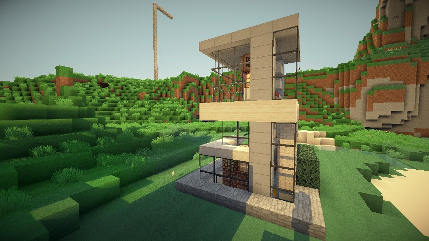 5x5 House 2 Minecraft Project