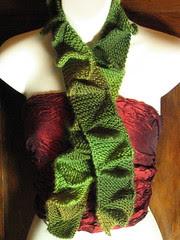 Leafy Shag scarf