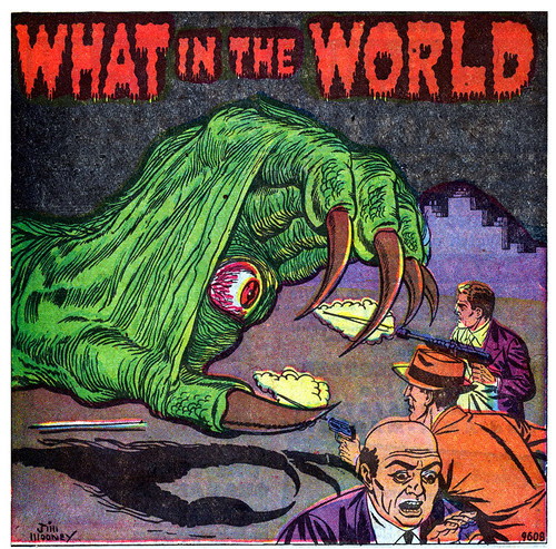 Amazing Detective Cases #12 - What in the world (May 1952)