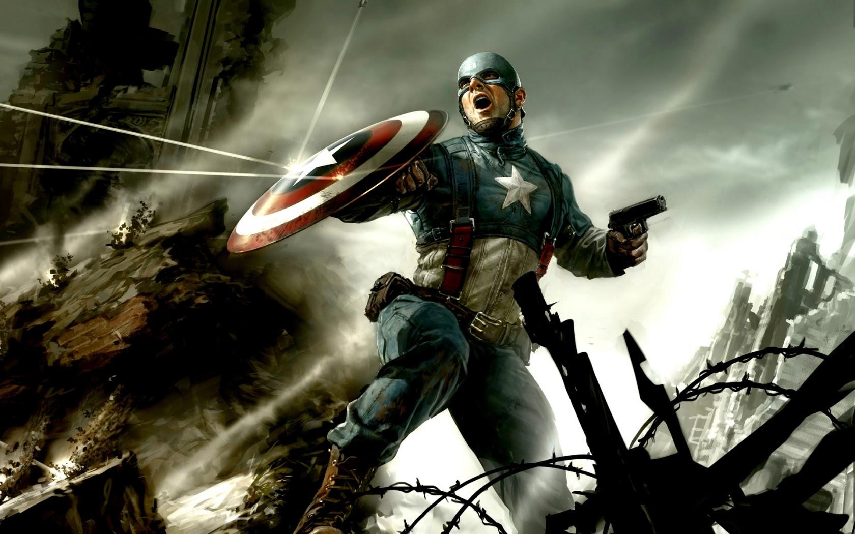 Captain America Concept Art