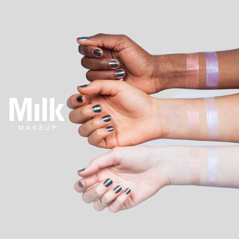 MILK MAKEUP Holographic Lip Gloss Swatches