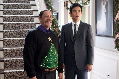 Danny Trejo as Harold's holiday-obsessed father-in-law in A VERY HAROLD & KUMAR 3D CHRISTMAS.