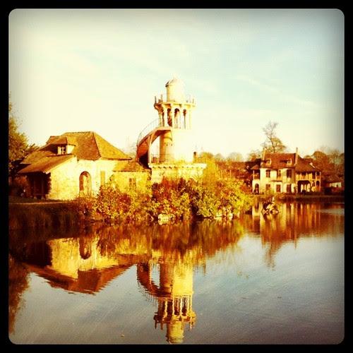 Queen's Hamlet. Lake