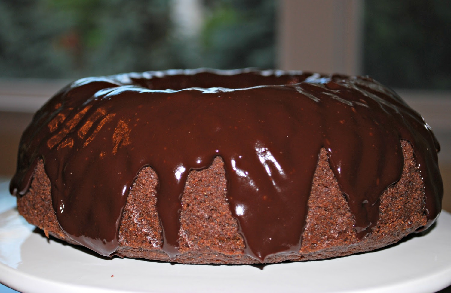 Gluten And Dairy Free Chocolate Fudge Bundt Cake
