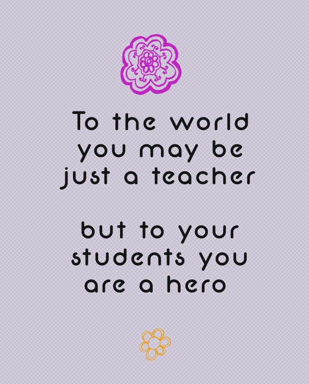 Inspirational Quotes From Teachers. QuotesGram
