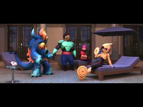 6 grandes heroes / Big Hero 6