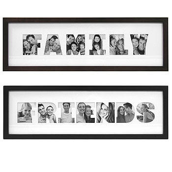 Wooden Family Photo Frame From China Manufacturer Only Living Idea