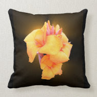 Glowing Canna Lily ~ Pillow throwpillow
