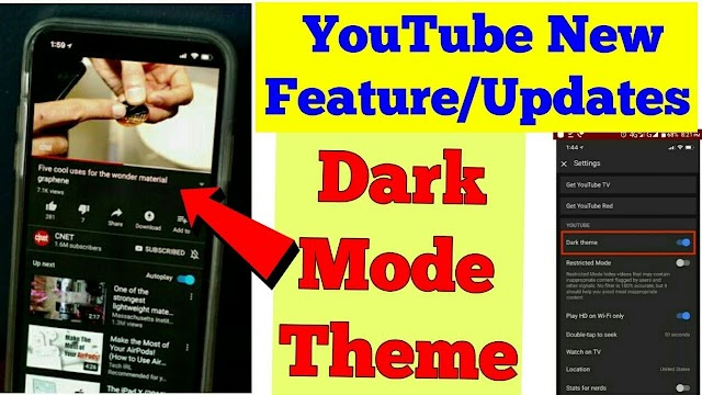 YouTube has a dark mode. Here's how to turn it on