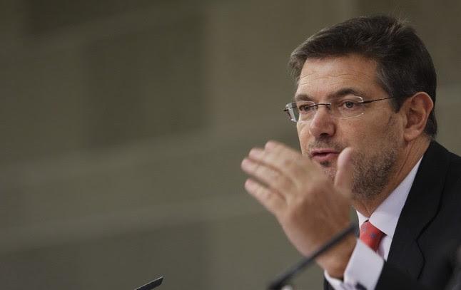 El ministro de Justícia, Rafael Catalá.