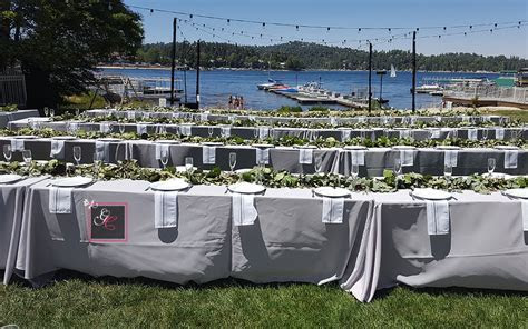 Inland Empire Lakefront Weddings   Graystone Catering