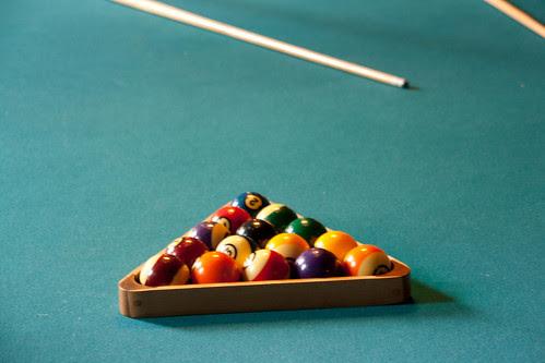 Hearst Castle billiards table