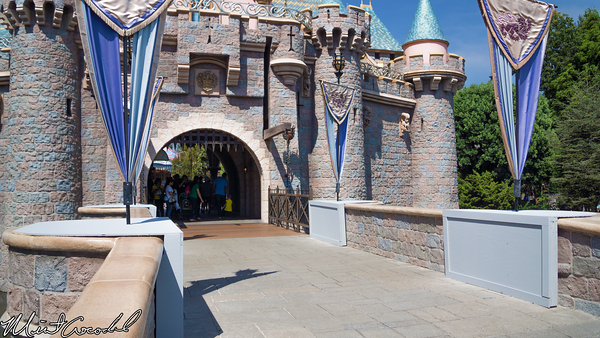 Disneyland Resort, Disneyland, Fantasyland, Sleeping Beauty Castle, Drawbridge, Design, New