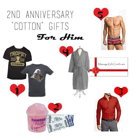 10 Fabulous Second Anniversary Gift Ideas For Husband