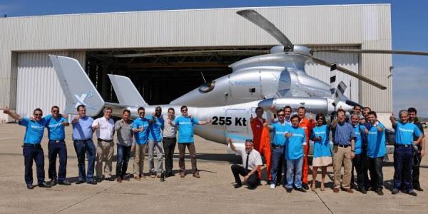 El proyecto de equipo Eurocopter X3.