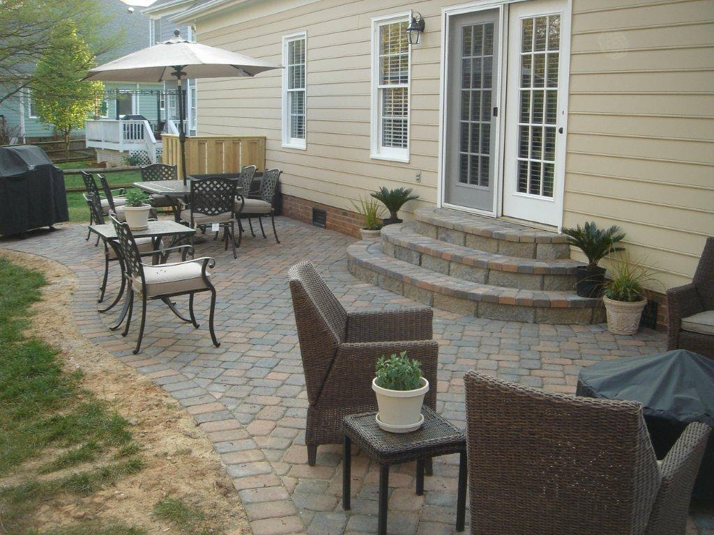 paver patio   Archadeck of Charlotte