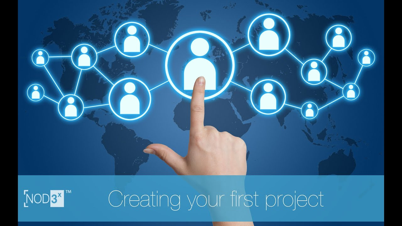 Creating Your First Project on NOD3x™