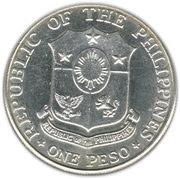 1 Peso (Bataan day) – obverse