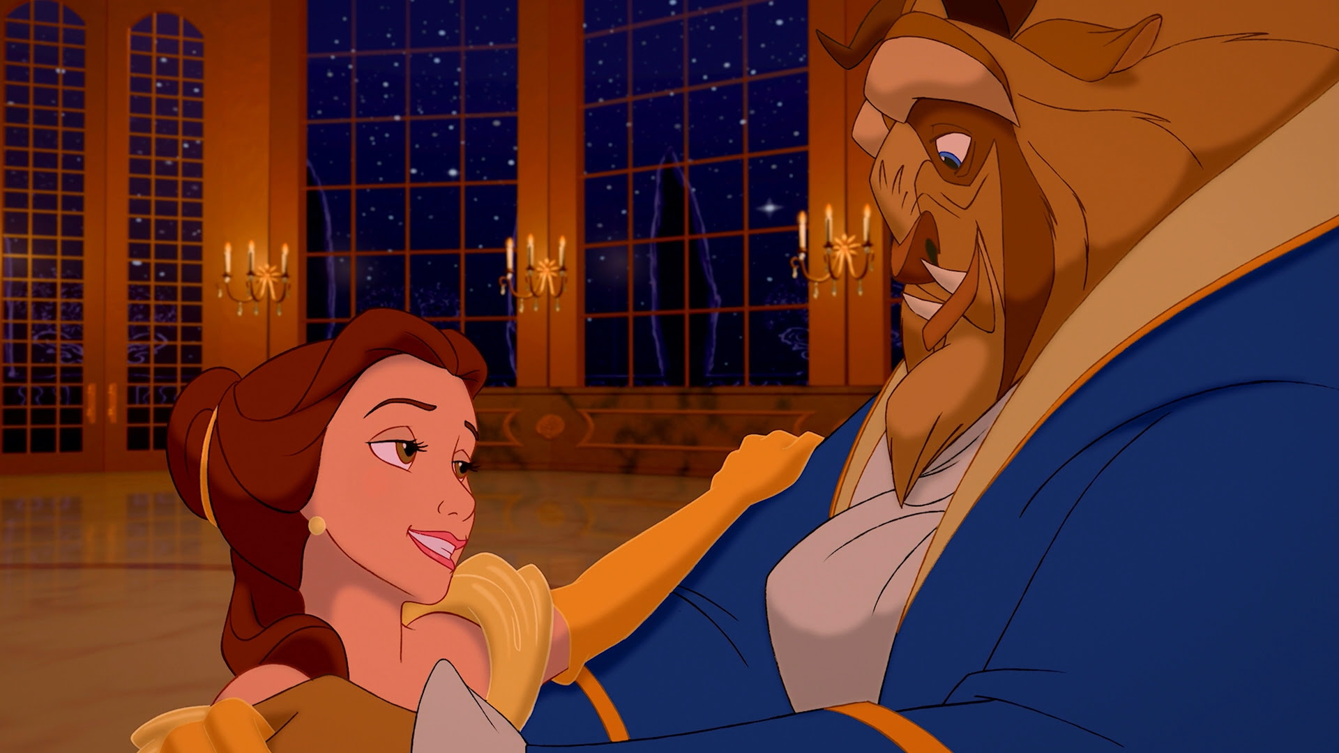 Movies Dancing Disney Beauty And The Beast Belle Disney 1920x1080