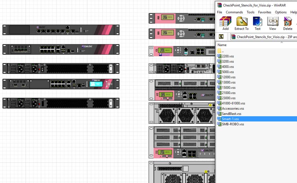 Information Security Addendum: Check Point Appliance Visio Stencils ...