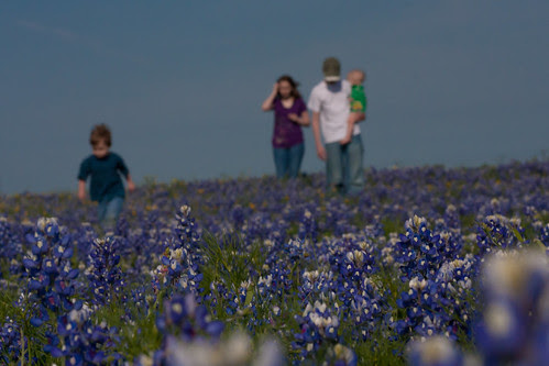 4 kids on the prairie