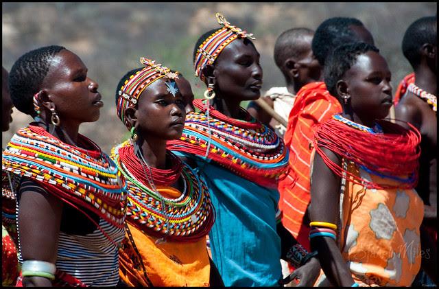 the samburu people kenyas traditionally flamboyant