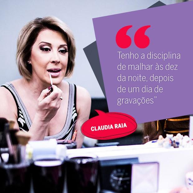 Claudia Raia (Foto: Arte: Eduardo Garcia)