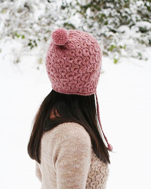 Tuque bonnet Anemone hat par Svetlana Volkova