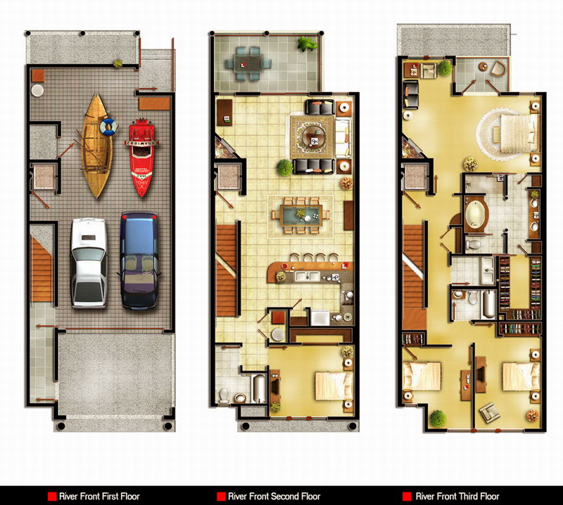 Architectural Home Design by KKKroo Category: Private Houses, Type: Interior - Interior Design Pictures Living Room Styles 2d