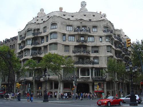 La Pedrera or Casa Mila