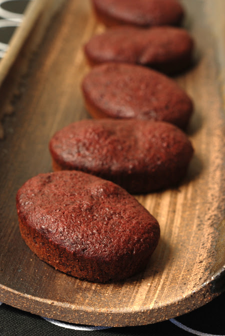 Chocolate and Beetroot Cakes© by Haalo