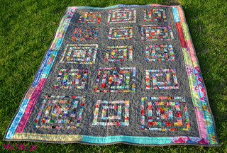 QCA Bee #5 Finished Quilt