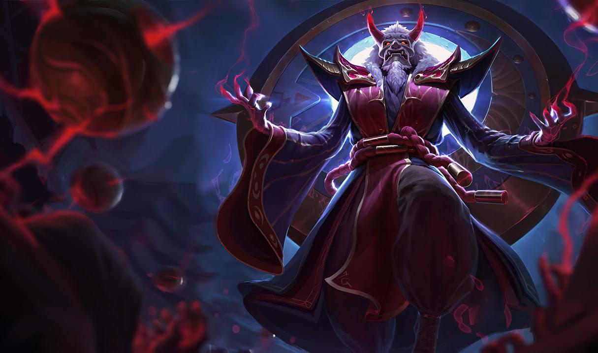 Blood Moon Zilean Skin League Of Legends Wallpapers