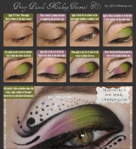 QNA MAKE UP ART #eyes #eyemakeup #greenshadow #makeupart - Check out more eye looks at bellashoot.com & share yours!