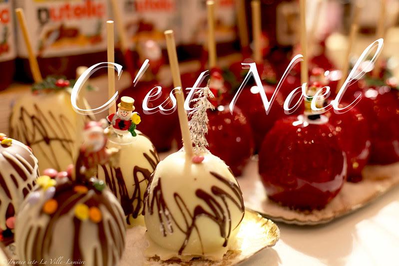 Christmas Market on the Champs-Elysées