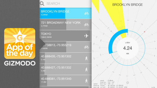 Crowsflight for iOS: Enjoy Wandering Without Ever Getting Lost